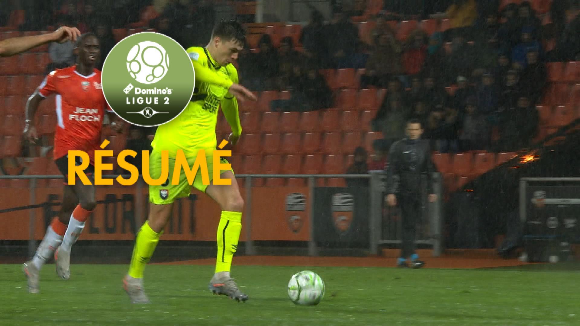 FC Lorient - SM Caen (2-1)  - Résumé - (FCL-SMC) / 2019-20