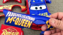 Assemble lightning McQueen car toy and learn colors