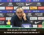 """Serie A - Sarri : """"Ma femme dit que je suis une tête de c**"""""""
