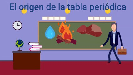 El origen de la tabla periódica / The origin of the periodic table