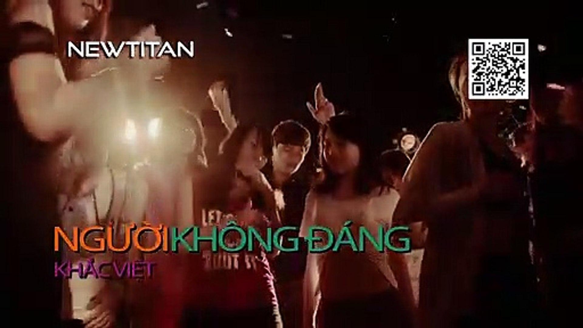 [Karaoke] Người Không Đáng - Khắc Việt [Beat]