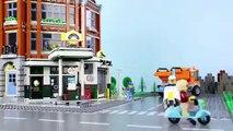 LEGO Batman Experimental Batmobile, Construction Drill STOP MOTION LEGO Cars and Trucks - Billy Bricks