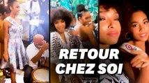 Miss France fait une arrivée triomphale en Guadeloupe