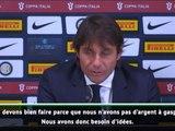 Inter - Conte :  ''Nous pourrions même vendre certains joueurs''