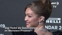 Gigi Hadid als Geschworene im Weinstein-Prozess?