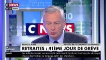 Bruno Le Maire : « Il faut inciter les Français à travailler plus longtemps »