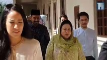 Let my lawyers deal with it, says Rosmah