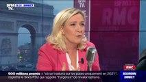 """Pour Marine Le Pen, Philippe Martinez est """"bien souvent imbuvable"""""""