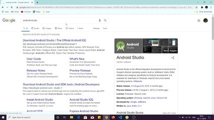 How to install Android Studio 2019