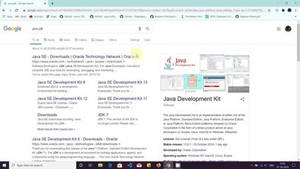 How to Install Java JDK on Windows 10