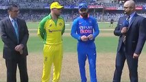 IND vs AUS 1st ODI | Australia won the toss, opt to bowl