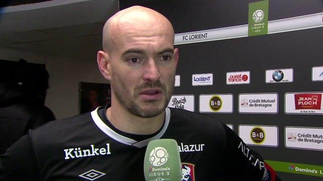 Réaction de Rémy Riou après FC Lorient / SMCaen