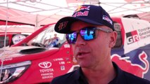 Dakar 2020 - Stage 7 - Interview Giniel de Villiers, TOYOTA GAZOO Racing