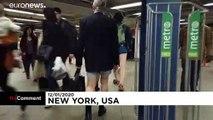 A New York et Prague, pantalon déconseillé dans le métro