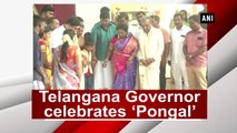 Telangana Governor celebrates 'Pongal'