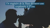 Un stagiaire de la Nasa découvre une exoplanète à 17 ans