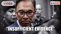 AGC cites lack of evidence, Anwar won't be charged