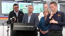 Melbourne intoxiquée, mais des pluies sont attendues