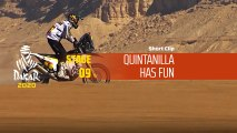 Dakar 2020 - Étape 9 / Stage 9 - Quintanilla has fun