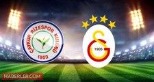 Rizespor Galatasaray maçı ne zaman, saat kaçta, nerede? Ziraat Türkiye Kupası Rizespor Galatasaray hangi kanalda? Galatasaray maçı şifresiz mi?
