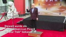 Hollywood ehrt Patrick Stewart alias Captain Picard