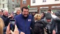 Salvini - L'accoglienza di Pontenure (Piacenza (14.01.20)
