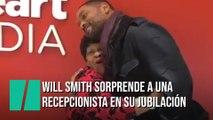 Will Smith sorprende a una recepcionista el día de su jubilación