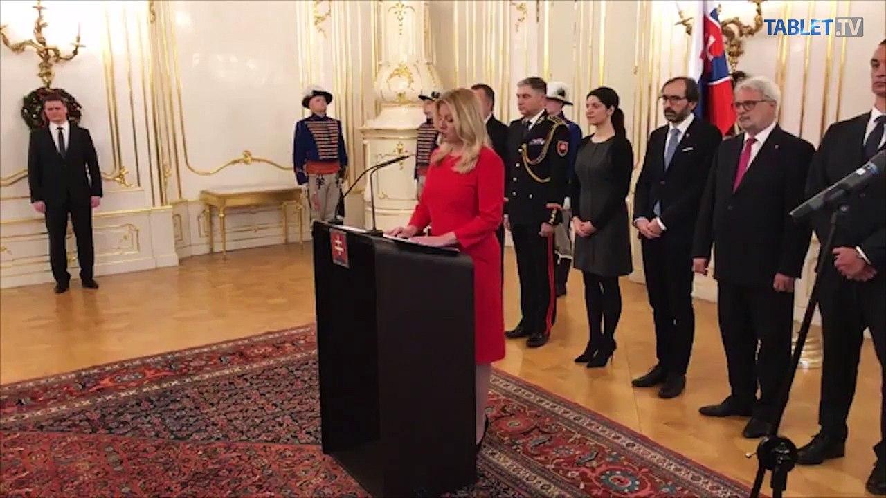 ZÁZNAM: Príhovor prezidentky Z. Čaputovej - 2