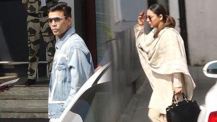 Gauri Khan & Karan Johar travels to Delhi for Ritu Nandan Last Rites; Watch Video | FilmiBeat