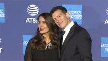 Salma Hayek celebrates longtime friend Antonio Banderas following Oscar nomination