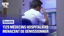 """""""C'est un appel au secours pour l'opinion publique"""": 1129 médecins hospitaliers ont envoyé une lettre de démission à Agnès Buzyn"""