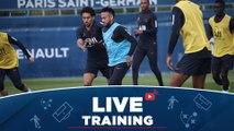 Replay : Les 15 premières minutes d'entraînement avant AS Monaco - Paris Saint-Germain