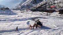 Pakistan'da kar ve sel felaketinde ölü sayısı 83'e yükseldi