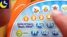 Quick Snippet Review: VTech Write and Learn Touch Tablet