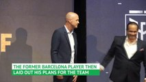 Jordi Cruyff excited for Ecuador challenge
