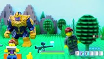 LEGO Spiderman STOP MOTION LEGO Superheroes Spiderman And Hulk Treehouse Build - LEGO - Billy Bricks