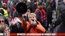 Retraites : les manifestants ne lâchent rien !