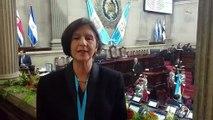 Embajadora de Guaidó en Guatemala acude a toma de posesión del presidente  Alejandro Giammattei
