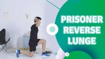 Prisoner reverse lunge - Fit People