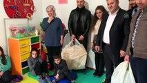 Çubuk-İMDER üyeleri çocukların oyuncak hayalini gerçekleştirdi