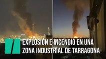 Un muerto y al menos cuatro heridos tras una explosión en una planta petroquímica en Tarragona