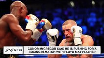 Conor McGregor Pushing For Boxing Rematch With Floyd Mayweather