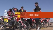 Dakar 2020 - Stage 9 (Wadi Al-Dawasir / Haradh) - Bike/Quad Summary
