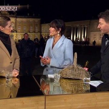Interview med Mette Frederiksen på Amalienborg og en flaske Champagne fra Umut til Mette | Godt Nytår Danmark | 2019 | TV2 Danmark
