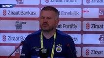 Kayserispor-Fenerbahçe maçının ardından...