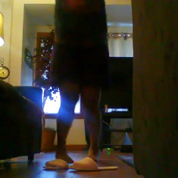 30 jumping Jacks in the living room