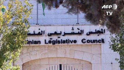 A Ramallah, les boîtes aux lettres débordent mais le Parlement reste vide