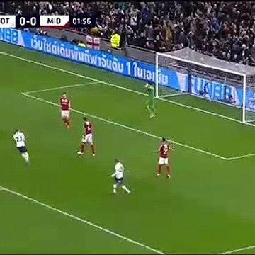 Lo Celso Goal - Tottenham 1-0 Middlesbrough