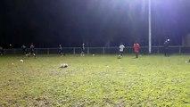 Séance d'entraînement des U17 de Saint-Pryvé Saint-Hilaire par l'éducateur sportif Damien Baujeon