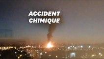 """En Espagne, """"un accident chimique"""" s'est produit sur un site industriel"""